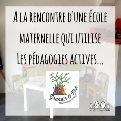 Ecole Maternelle Grandir et Rire