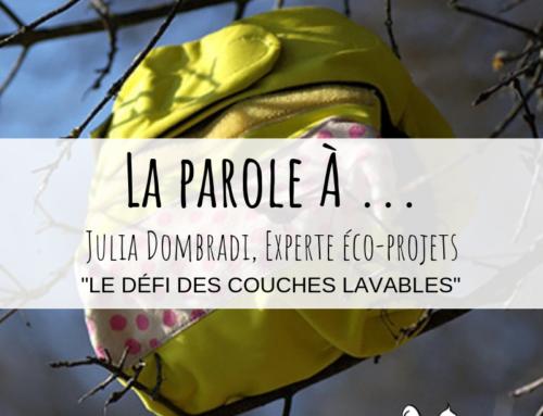 #LA-PAROLE-A : Le défi des couches lavables !
